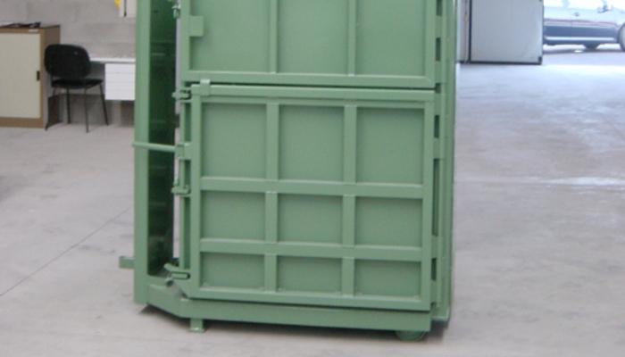 Pressa verticale presse per rifiuti for Presse idrauliche usate per officina